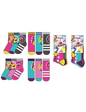 Pack 6 pares de calcetines diseño SOY LUNA (DISNEY) modelos diferentes