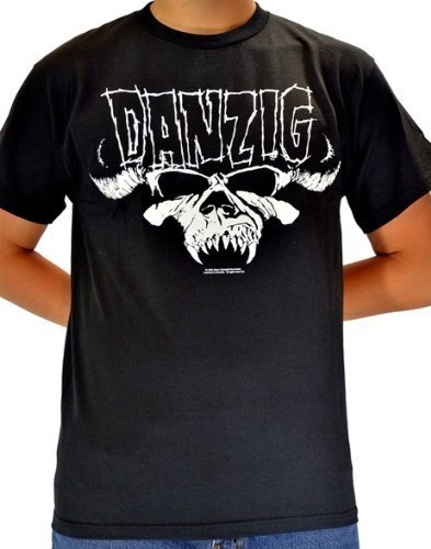 Danzig Skull and Logo T-Shirt