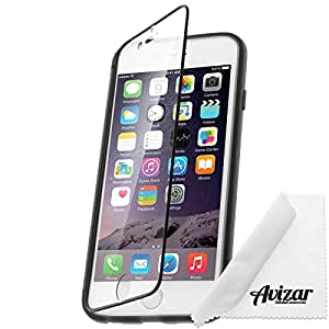 Avizar - Coque Etui Clapet Tactile pour Apple iPhone 6 - Noir