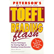 Peterson's Toefl Reading Flash: The Quick Way to Build Reading Power (Toefl Flash Series)