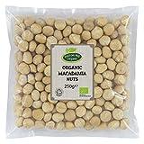 Hatton Hill Organic Whole Raw Macadamia Nuts 250g - Certified Organic