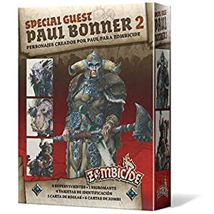 Edge Entertainment- Zombicide Black Plague - Green Horde Special Guest: Paul Bonner 2 ES ES, Color (EECMZB43)