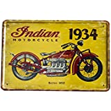 Haodou Vintage Hierro Pintura Personalidad Pared Decoración Cafe Bar Tienda Decoración Pintura de Pared de Hierro