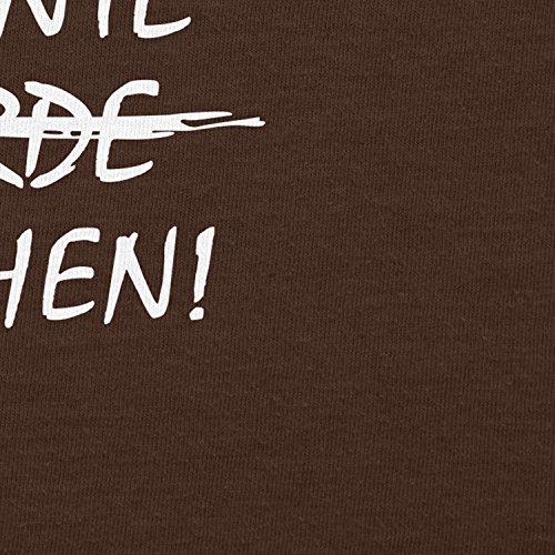 TEXLAB - Machen! - Herren T-Shirt Braun