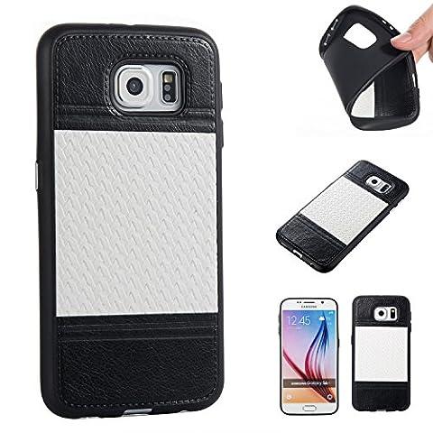 BONROY® TPU Schutzhülle für Samsung S6 Silikon Handyhülle Case Cover,