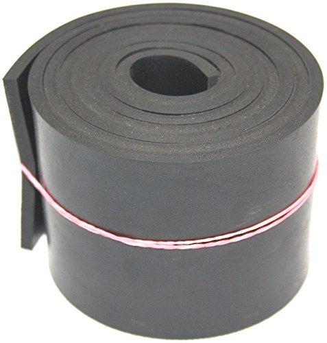 2000mm x 100mm x 5mm Gummiauflage, Gummistreifen Gummiplatte Gummimatte