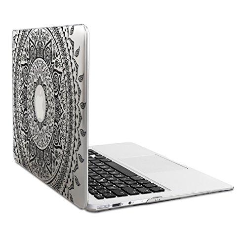 kwmobile Étui Transparent Coque pour Apple MacBook Air 13'...