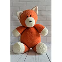 KNITTING PATTERN Loxy the Fox Soft Toy From Knitting by Post