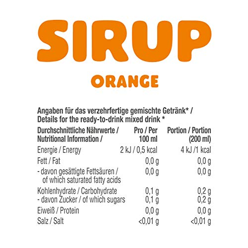 GOT7 Sugar Free Sirup Getränkesirup (6er 750ml) - 2