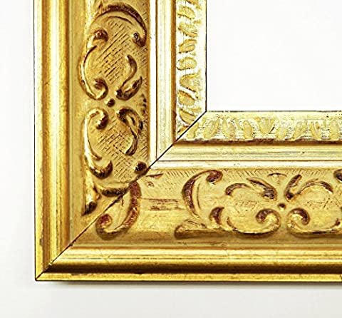 Real Wood – Mirror Mirror – Chateau Gold 7.3 – External Dimensions 30 x 50 cm Wall