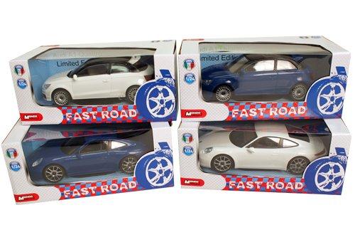 mondo - Voiture Fast Road échelle 1:24 18 cm, Multicolore, 22.1 x 10.9 x 9.4 (51159)