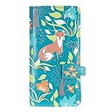 Shagwear Junge-Damen Geldbörse, Large Purse Designs: (Füchse im Wald Petrol/Forest Foxes)