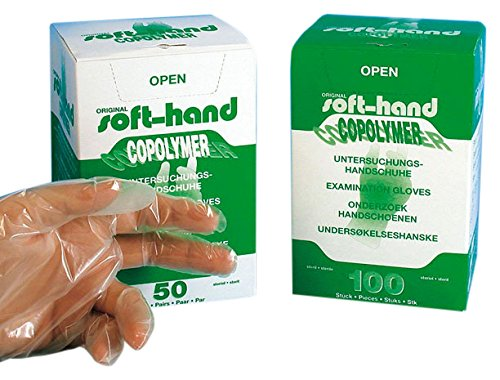 Soft mano 00368533copolimeri guanti sterili,, L (Confezione