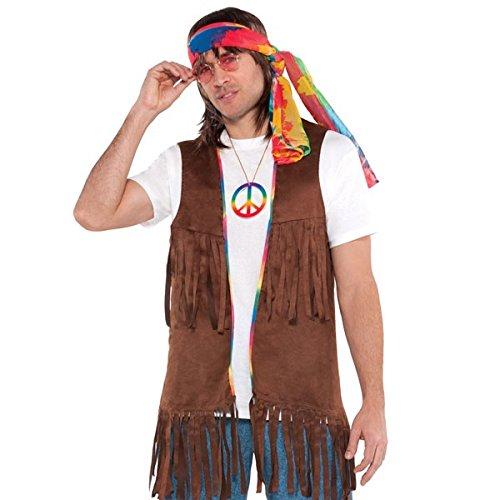 - Hippie Fransen Weste Kostüm