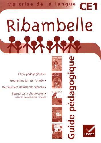 Ribambelle CE1 série rouge éd. 2010 - Guide pédagogique