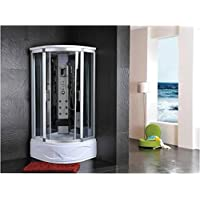 Cabina doccia idromassaggio sauna bagno turco
