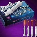 Portable Hochfrequenz D'arsonval Haut, die Akne-Stellen-Entferner-Gerät festzieht - weiß