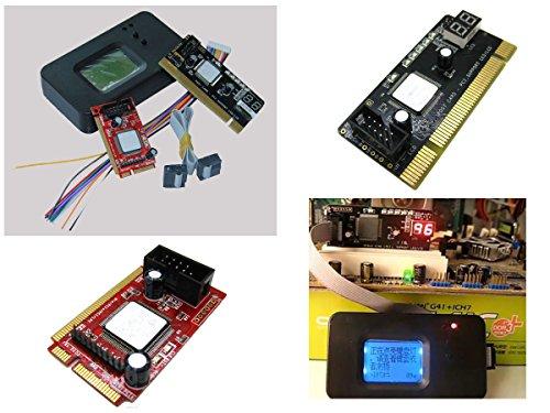 KALEA-INFORMATIQUE © - Boitier de Test pour cartes mères avec Ecran LCD - Interfaces PC portable et PC de bureau : PCI / Mini PCI / Mini PCIe / LPC - OUTIL PROFESSIONNEL / VERSION 2014
