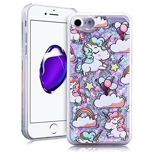SMARTLEGEND Bling Glitter Rigida Cover per iPhone 7(4.7