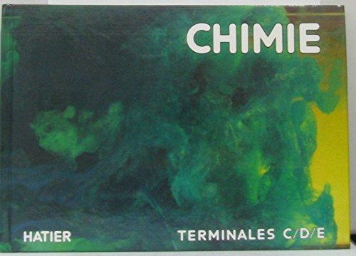 Chimie, classes de terminales C,D et E