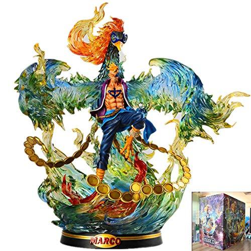 LIGHT LJ Marco Action-Figur Figuarts One Piece Charakter Figma Für Kinder Und Anime-Liebhaber Oder Benutzt Für Hauptdekoration 46cm