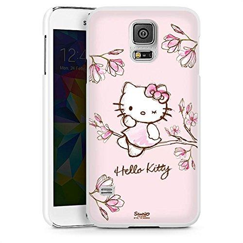 DeinDesign Samsung Galaxy S5 Neo Hülle Case Handyhülle Hello Kitty Merchandise Fanartikel Magnolia