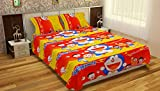Krishnam Home Doraemon Printed Cotton Do...