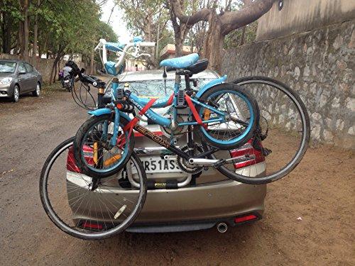 bikerz rear mounted car bike rack : model trunkz BikerZ Rear Mounted Car Bike Rack : Model TrunkZ 51GNhvHmuhL