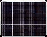 enjoysolar polykristallin 50W 12V Módulo Solar Panel Solar Poly 50W IDEAL PARA Jardín...