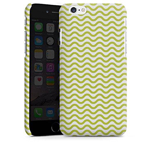 Apple iPhone 5s Housse Étui Protection Coque Vagues Motif Motif Cas Premium mat