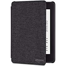 All-New Kindle Paperwhite Water-Safe Fabric Amazon Cover (10th Gen), Black