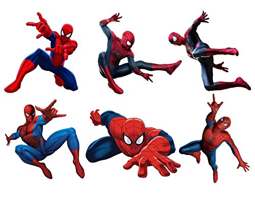 Aufkleber Aufkleber-Kinder Spiderman Ref 15128, 22x29cm