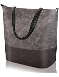 df69a2dbb Proking Mujer Bolso de Mano Bolso de Hombro Bolso Tote Bag Bolsos Shopper  Bandolera Bolso de