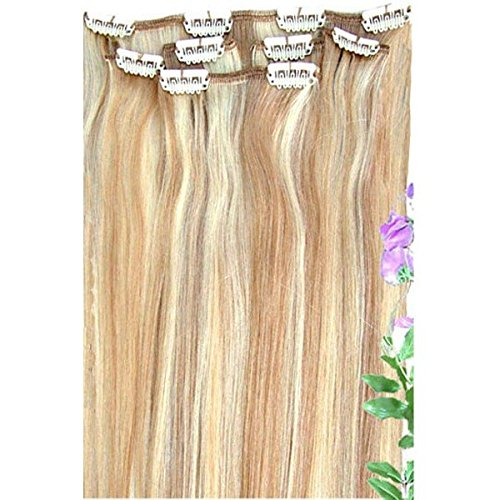 Forever Young Clip In Remy Human Hair Extensions Honey Blonde Mix Half Head 16 Length by Forever Young (Extensions Young Hair Forever)