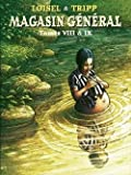 Magasin Général, intégrale de tomes 1 à 9 en 4 volumes.