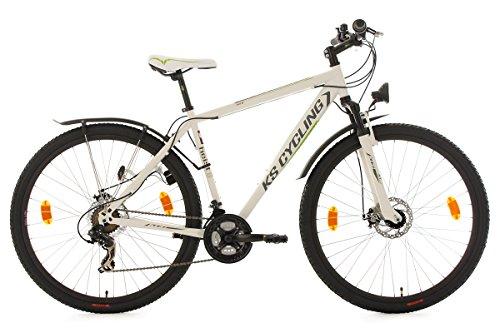 KS Cycling Mountainbike Hardtail Atb Twentyniner Heist RH 51 cm Fahrrad, Weiß-Grün, 29