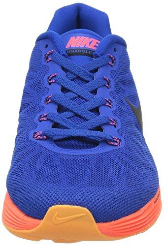 Nike - Lunarglide 6, Scarpe da corsa da uomo hype cobalt black hyper punch 400