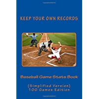Baseball Game Stats Book: Keep Your Own Records - Simplified Version: Volume 9