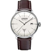 Junkers Bauhaus–Reloj de pulsera XS analógico de cuarzo piel 60715 de Junkers
