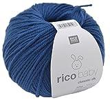 Rico Design rico baby classic dk Strick- und Häkelgarn Babywolle jeans