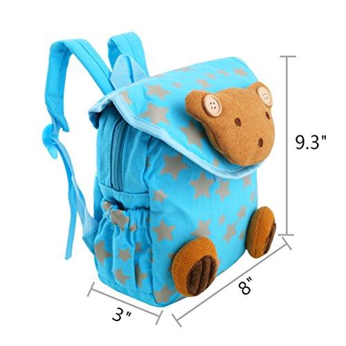 Imagen de uraqt bolsa pequeña de la historieta  muñeca infantil escolar animal para niños niñas bebés alternativa