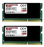 Komputerbay SODIMM Speichermodul (28GB/ 2x 4GB; DDR3 HYNIX SO1066, 204-Pin, 1066MHz, PC3 8500 DDR3)
