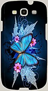 Marvelous multicolor printed protective REBEL mobile back cover for S3 - Samsung I9300 Galaxy S III D.No.N-R-3995-S3