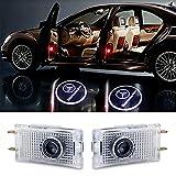 ZNYSTAR Car LED Lampe der lampe der Tür Ghost Shadow Willkommen Licht Kit (Benz W210)