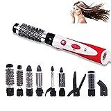 Une étape sèche-Cheveux et Styler Puissant 10 en 1 Hot air Brosse de coiffage, réglages de Chaleur Rapide 900 W Multi-Fonctionnel pour Straight & Curly Hairhot Comb