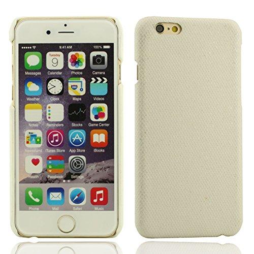Apple iPhone 7 Plus 5.5 inch Coque Protection Case, Spécial Texture Coloré Serie Diverses Couleurs Mince Poids Léger Briller Luxe Joli Dur Housse de protection blanc