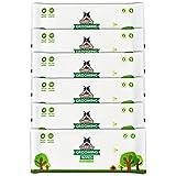 Lingettes nettoyantes Pack de Voyage Pogi's - 120 Lingettes désodorisantes pour Chien - biodégradables, Parfum de thé Vert, Naturelles