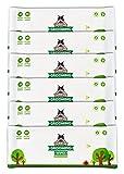 Salviette Pogi per toelettatura Pacchetto di Viaggio - 120 salviette deodoranti per Cani - biodegradabili, Profumo di tè Verde