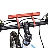 ECYC® Cycling Bike Rahmen Doppel Lenkerverlängerung Halterung, Rot