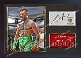 SGH SERVICES Poster Conor McGregor UFC MMA, gerahmt, Fotoposter mit Rahmen aus MDF-Platte